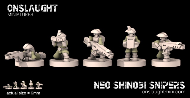 [Onslaught miniatures] Nouvelles - Page 4 Neo%20shinobi%20snipers