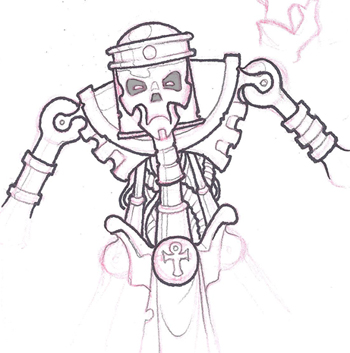 [Onslaught miniatures] Nouvelles - Page 30 Pharaon_sketch