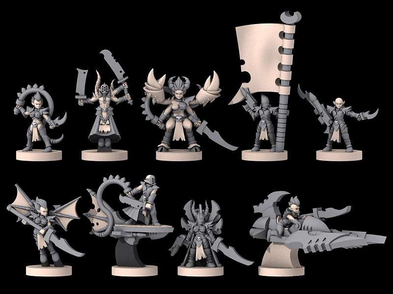 [Onslaught miniatures] Nouvelles - Page 30 Stygian_command_wip3