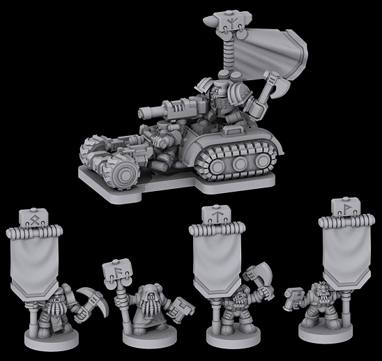 [Onslaught miniatures] Nouvelles - Page 34 Grudd_command_wip_1