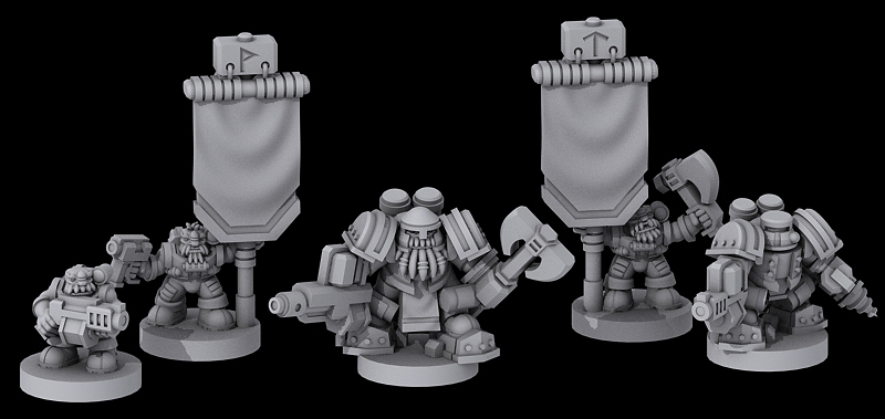 [Onslaught miniatures] Nouvelles - Page 34 Grudd_command_wip_2