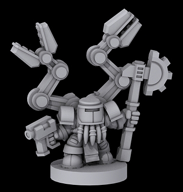 [Onslaught miniatures] Nouvelles - Page 34 Grudd_command_wip_3